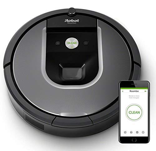 iRobot Roomba 960 - Robot Aspirador Óptimo Mascotas,...