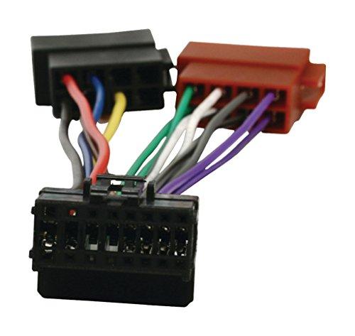 HQ Câble pion16p03Adaptateur autoradio ISO