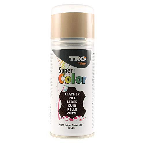 TRG The One - Tinte en Spray para calzado de Piel y Piel Sintética | Ideal para Restaurar o cambiar el color de Zapatos de Piel | Super Color #354 Beige, 150ml