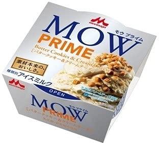 森永乳業 MOW PRIME バタークッキー&クリームチーズ105ml×18個
