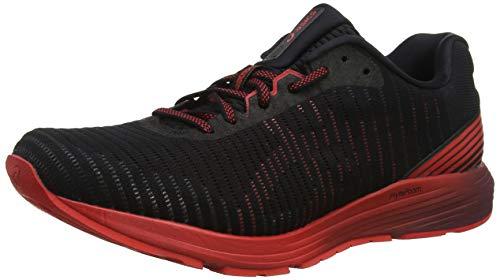 Asics Dynaflyte 3, Zapatillas de Running para Hombre, Negro (Black/Red Alert 002), 40.5 EU