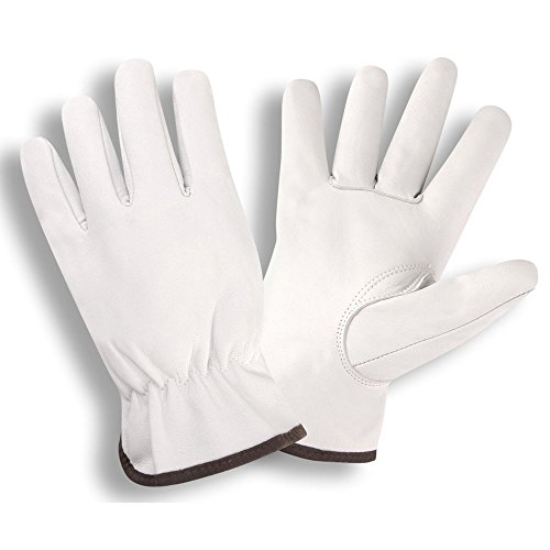 Cordova 8500 Premium Grain Goatskin Drivers Gloves, Keystone Thumb, Color Coded Cuff, Size: XL, Pack of 12 Pair