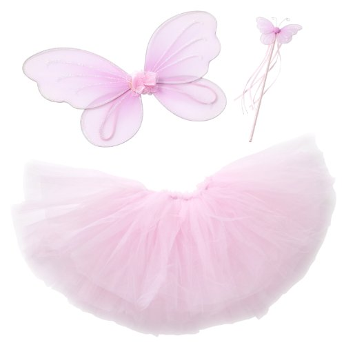 Fairy Princess Tutu Costume Set for Girls Dress up and Ballet Dance - http://coolthings.us