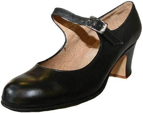 Menkes Chaussure de Flamenco, Femme, Cuir, avec Clous, Taille 38