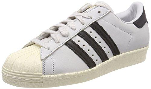 adidas Damen Superstar 80S Fitnessschuhe, Weiß (Ftwbla/Negbas/Blacre 000), 37 1/3 EU