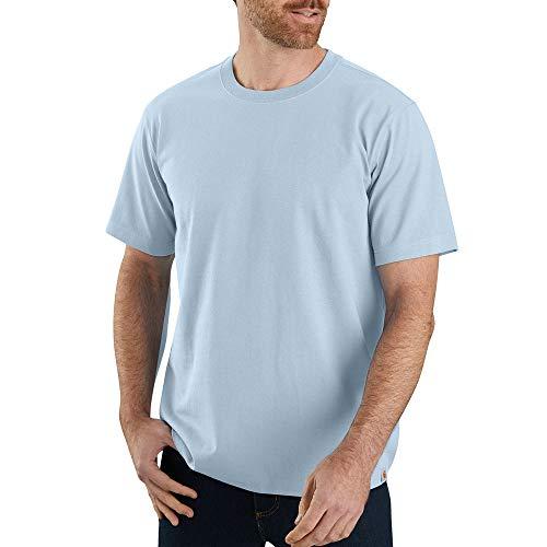Carhartt Men's 104264 Workwear Solid T-Shirt - XX-Large - Soft Blue Heather