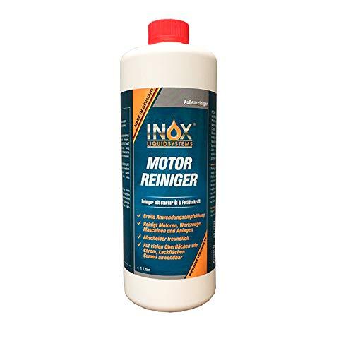 INOX® Motorreiniger Konzentrat für Auto, 1L – Motorenreiniger, Motorraum-Reiniger für KFZ