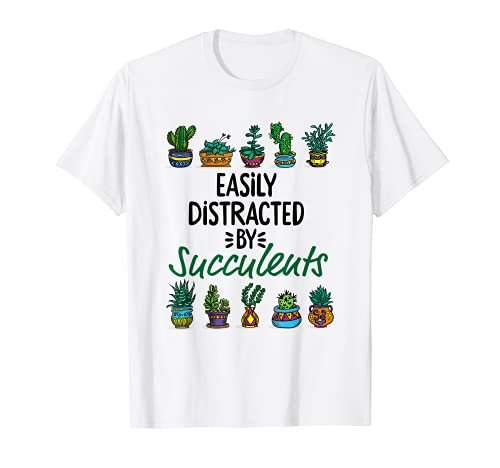 多肉植物に気を取られがち - ガーデニング Tシャツ