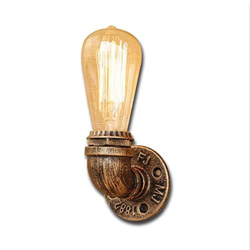Applique Murale Industrielle Edison Applique Steampunk Tube Vintage E27 220-240V Cuisine Lampe Chambre Lampe Rétro Vintage Design Lampe Fer À Pipe À Eau Luminaire Éclairage Intérieur Hall Lampe Bar