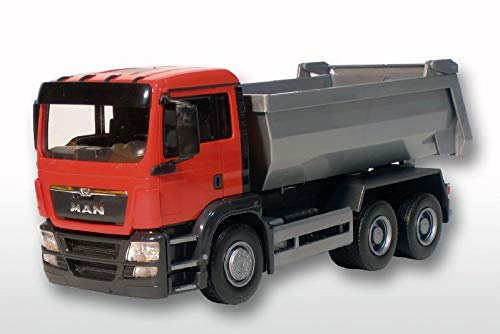 Emek 216692 Man tgs m 8x4 camiones de volteo 38cm 1:25 boegl narzissengelbe ejec Max