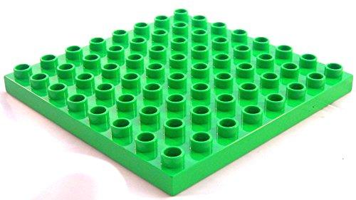 Lego Duplo Bauplatte Platte 8x8 grün