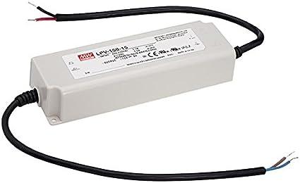 LED Fuente de alimentación 151W 24V 6,3A ; MeanWell, LPV-150-24