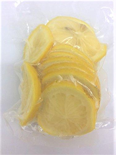 国産冷凍レモン スライスカット (瀬戸内レモン) 250g ノーワックス【消費税込み】
