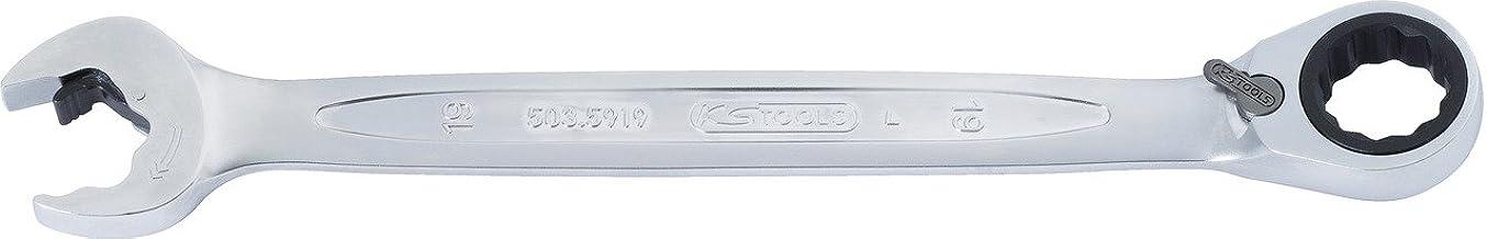 KS Tools 503.5910 DUO GEARplus ringöppning, mullåsfunktion 10 mm, omkopplingsbar
