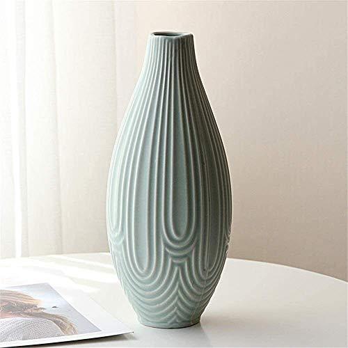 ADSE Vase Essentiel Fleur Unique Fleurs Décoration de La Maison Centres De Table Poids Léger Bud Design Spécial Style Céramique