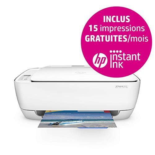 HP Deskjet 3630 All-in-One Multifunktionsdrucker (Instant Ink, Drucker, Scanner, Kopierer, WLAN, AirPrint)