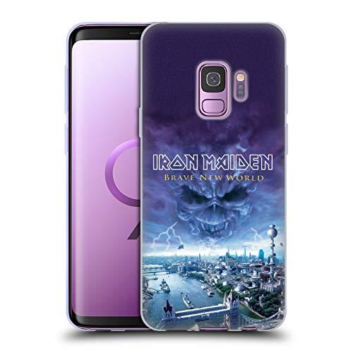 Head Case Designs sous Licence Officielle Iron Maiden Brave New World Couvertures D'Album Coque en Gel Doux Compatible avec Samsung Galaxy S9