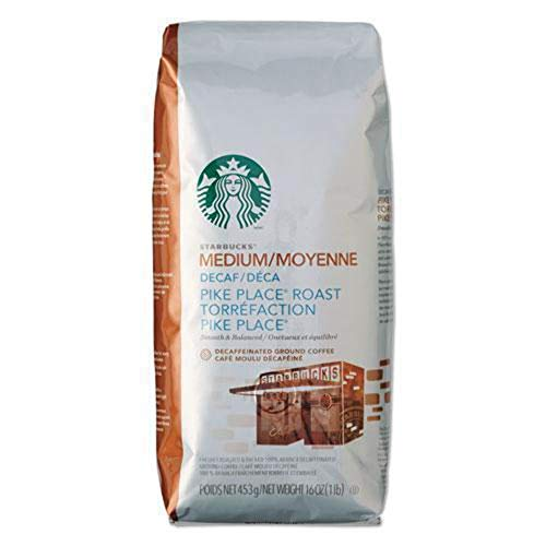 Starbucks Pike Place 1 lb. Decaf Ground Coffee