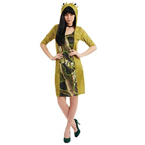 Fun Shack Grünes Frosch Kostüm für Damen - Klein
