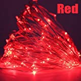LED Christmas Garland Copper Wire LED String Lamp Fairy lights For Indoor New Year Xmas Wedding Decoration Halloween Lamp