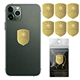 6Pack - EMF Protection Cell Phone Sticker, Radiation Blocker for Cell Phone, Anti Radiation Protector Sticker, KAKAWIN EMF Blocker for Mobile Phones, iPad, MacBook, Laptop and All Electronic Devices
