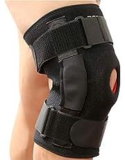 CFR - Rodillera de soporte de rodilla con estabilizadores laterales para el alivio del dolor articular de la rodilla, soporte del ligamento, recuperación de la rodilla para el menisco