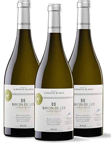 Baron de Ley Varietal Garnacha Blanca Rioja - Pack 3 botellas 75...