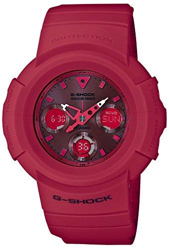 [カシオ] 腕時計 ジーショック 35th Anniversary RED OUT 電波ソーラー AWG-M535C-4AJR メンズ レッド