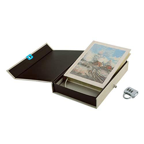 Cuaderno de notas A5 con cerradura de combinación para negocios, viajes, diario y anotaciones