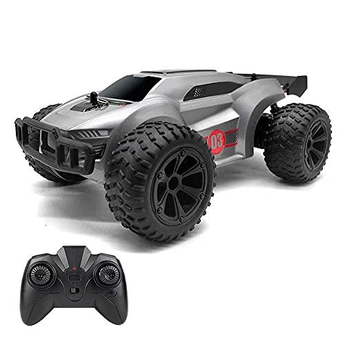 Nsddm 8in Mini RC Car 2.4G Control De Control Remoto Eléctrico Coche Dirt Racing Coche Bigfoot Camión De Escalada con Vehículo De Juguete Ligero para Niños Y Adulto con Batería Recargable