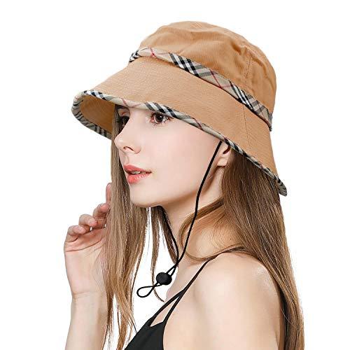 SIYWINA Cappello da Donna Cappello Estivo da Spiaggia impilabile Cappellino Anti-UV