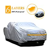 "Autsop Truck Cover, 6 Layers Truck Cover Waterproof All Weather,Outdoor Dust UV Hail Snow Protection Pickup Cover,Universal PK-L (Fit 228""to 240')"