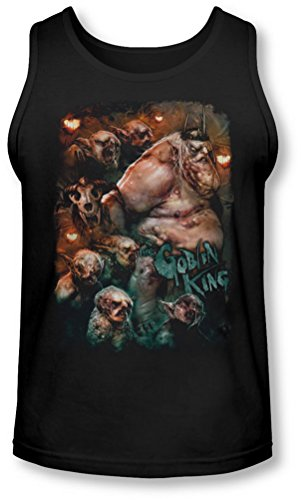 The Hobbit - - Roi des gobelins Tank-Top pour hommes, Medium, Black