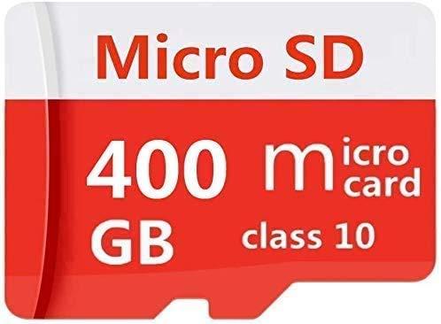 Tarjeta de memoria Micro SD de alta velocidad de 128 GB, 216 GB, 400 GB, diseñada para smartphones Android, tablets clase 10, tarjeta de memoria SDXC con adaptador (256GB)