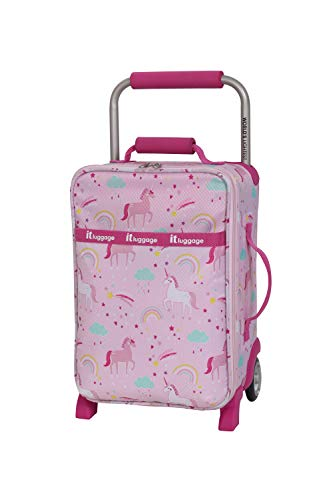 it luggage Girls' World's Lightest, Unicorn Repeat Print, 1 Piece