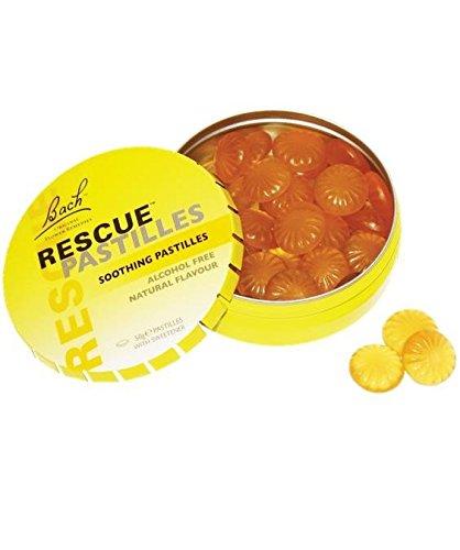 Bach Rescue Remedy Orange fopspeentabletten 50 g – natuurlijke bloemencomponenten om emotionele balans en stemming te bereiken, zonder suiker en additieven.