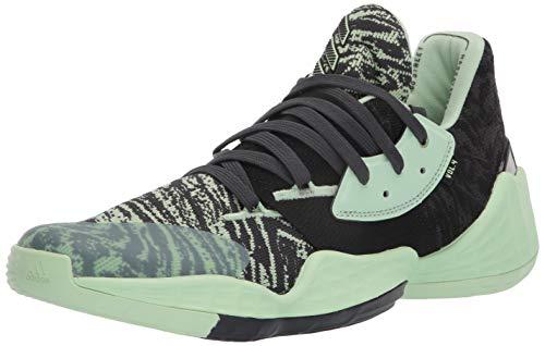 adidas Crazy X 4, Zapatillas de bsquetbol Hombre, Núcleo Verde Brillante Negro de Carbono, 41 1/3 EU