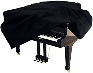 Ortola - Funda Piano Cola 197 Cms. C5 Yamaha Rx5 Kawai 10Mm, Negro