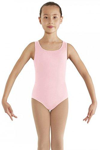 Bloch Gladiolus - Maillot de danza para niña, 6-7 años, color rosa