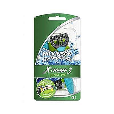 Wilkinson Sword Xtreme 3 Sensitive Disposable Razors for Men