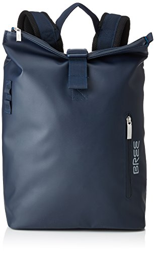 BREE Collection Unisex-Erwachsene Pnch 712, Backpack S Rucksack, Blau (Blue), 36x14x30 cm