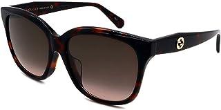 Gucci GG0800SA Dark Havana/Brown Shaded 56/16/145 women Sunglasses