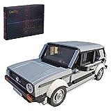 TASS Technic MK1 - Coche modular 1283 piezas MOC-20814 Oldtimer Hatchback Auto Bricks Modelo para Volkswagen Golf MK1 GTI Compatible con Lego Technic