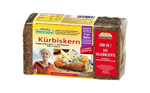Mestemacher Roggenvollkornbrot mit Kürbiskernen 100 % Vollkorn