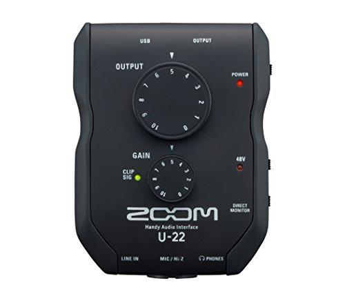 Zoom U-22 Handy Audio Interface [並行輸入品]