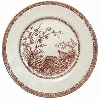 Cuthbertson Brown Quail Dinner Bread & Butter Plate, 7 1/8