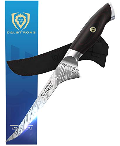 DALSTRONG - Boning Knife - 6' - Omega Series - American Forged BD1N-VX - Hyper Steel - w/Sheath