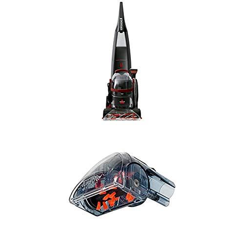 BISSELL 2072N Proheat 2x LiftOff Teppichreinigungsgerät mit abnehmbarem Flecken-Reinigungsgerät + Power Turbo Bürsten-Aufsatz für alle Bissell Flecken-und Teppichreinigungsgeräte
