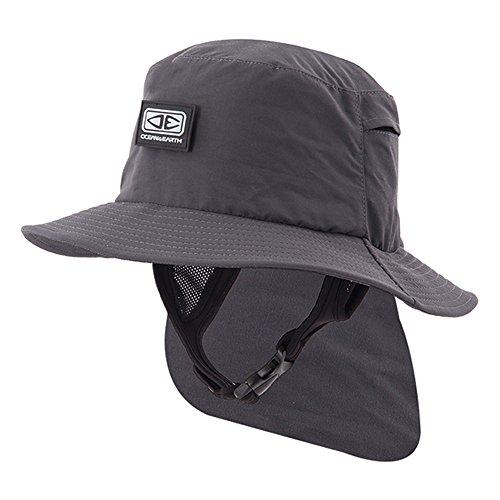 Ocean & Earth Sombrero para Hombre Indo Surf Hat (XL, Negro)