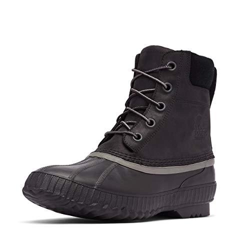Sorel - Men's Cheyanne II Waterproof Insulated Winter Boot, Black/Black, 9.5 M US